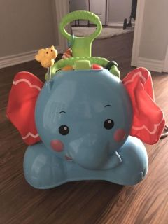 Fisher Price 3 in 1 ride on elephant