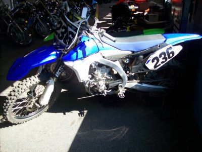 2012 Yamaha YZ450F Motocross Off Road Wisconsin Rapids, WI