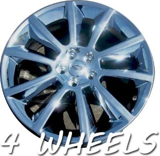 "Purchase 4 20"" FACTORY FORD FLEX CHROME OEM WHEELS RIMS 2010-13 3771 OUTRIGHT PLUS TPMS motorcycle in Costa Mesa, California, US, for US $1,100.00"