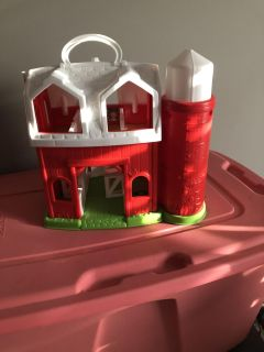 Little people barn with all animals $10.00