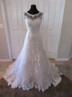 Amanda's A Line Lace Wedding Dress Size 8