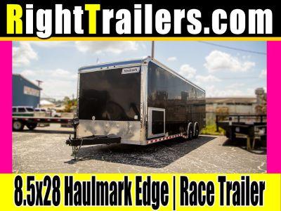 8.5x28 Haulmark Edge   Race Car Trailer