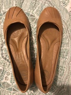 Leather Womens flats
