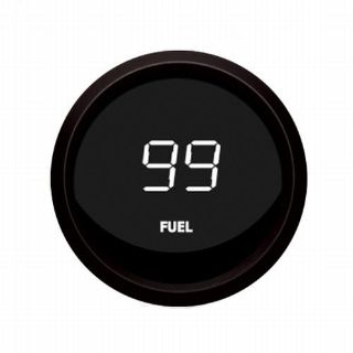 Sell Universal Digital Fuel Level Gauge White / Black Bezel Intellitronix M9016-W USA motorcycle in North Olmsted, Ohio, US, for US $43.95