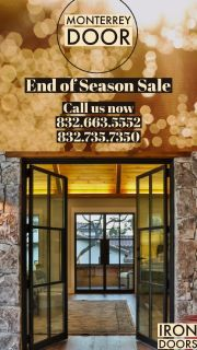 Iron Doors- End of Season Sale