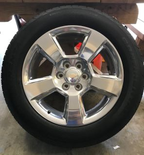 275/55-R 20 Tires And Rims