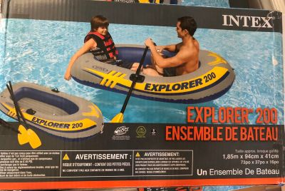 2 person Inflatable Boat (2 available)