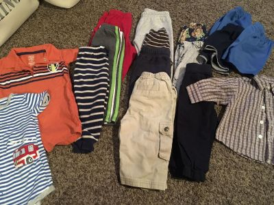 Boys 12 Months Clothing Assortment.