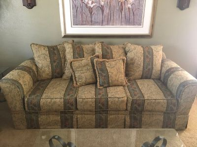 Couch and loveseat $200.00 OBO