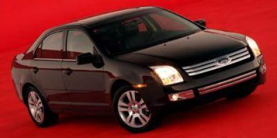 2006 Ford Fusion V6 SE (Red)