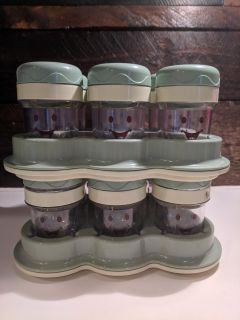 Baby Bullet storage containers