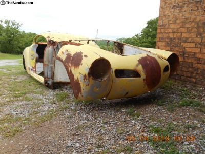1960s Ghia Body Cut for Parts