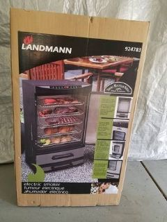 Landmann 40-Inch Electric Smoker with LED display