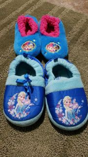 Girls slippers(size 9/10)
