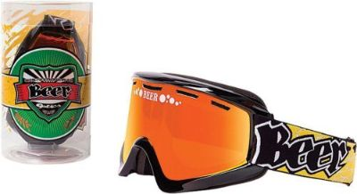 Buy Beer Optics Ice Cold Beer Foamy Mens Snowboard Skiing Snowmobile Goggles motorcycle in Manitowoc, Wisconsin, United States, for US $54.95