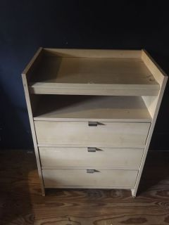 FREE we use it for alittle dresser for socks & Undies