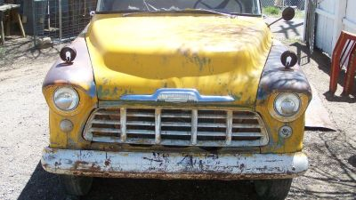 1956 Chevy 3100 Pickup Very Rare 1-Ton Step Side Pickup Truck