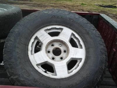 chevy gmc rims 6 lug stock complete