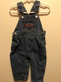 12 month 76ers jean overalls