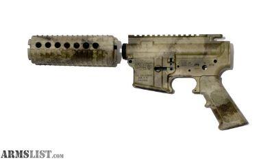 For Sale: DPMS AR15 CAMO Matched Upper/Lower Set - Blem
