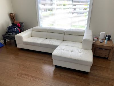 Structube sectional couch