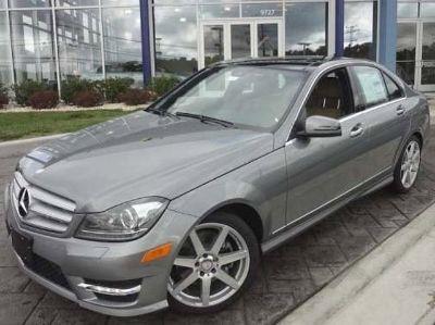 2013 Mercedes-Benz C-Class C300 Luxury 4MATIC (Palladium Silver Metallic)
