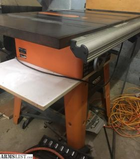 For Sale/Trade: Rigid Table Saw Model TS3650