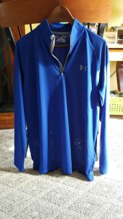 NWT Under Armour 3/4 zip Pullover