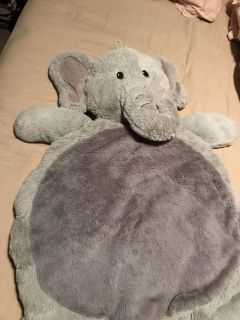 Elephant plush play mat for baby!