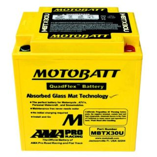 Buy Motobatt MBTX30U PowerSports Battery for Harley-Davidson FL, FLH Touring & more motorcycle in Manheim, Pennsylvania, United States, for US $140.00