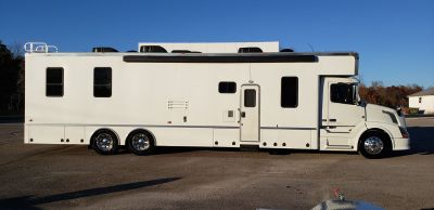 2008 Optima 45' Elan 3 Slide Motorhome on a Volvo Chassis wi