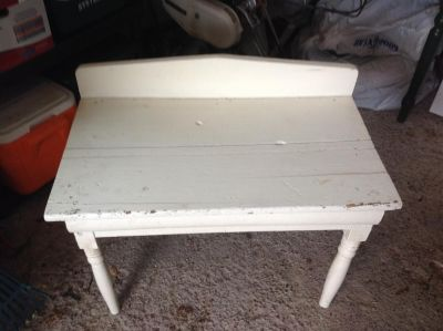 Antique pantry/side table