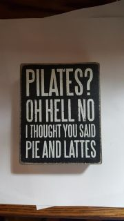 2 PLAQUES WITH CUTE FUNNY SAYINGS