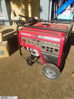 For Sale: Honda EM6500SX generator