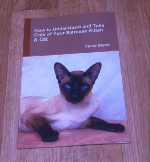 Siamese Kitten & Cat book