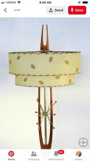 ISO mid century lamp or one in that style