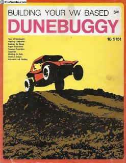 Building your VW Based Dunebuggy Book