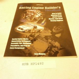 Find HP Books HP1492 Reference Book Racing Engine Builder's Handbook motorcycle in Decatur, Georgia, United States, for US $15.98