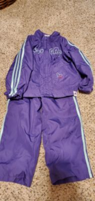 Size 24m running suit Adidas