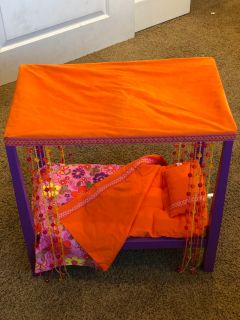 American Girl Doll Canopy Bed