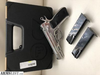 For Sale: CZ75 b polished stainless