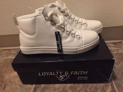 Size 11 white shoes