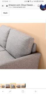 FREE SOFA NOT THE ACTUAL PICTURES. MISSY PICK UP BY 615 PM TODAY.