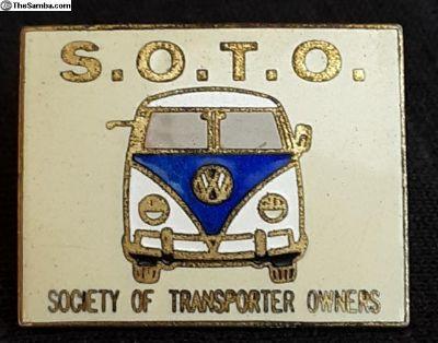 Vintage SOTO Collectors Pin