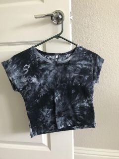 Crop too size small