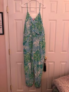 LILLY PULITZER JUMPSUIT XL
