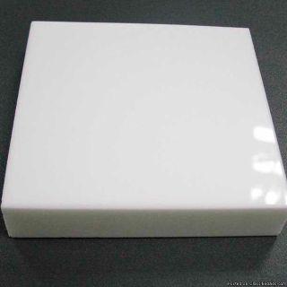 Full Body Crystal Glass Porcelain White 36 X 36 Rectified, Waterproof, Green Product, In Door, Out Door.