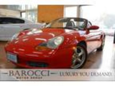 2002 Porsche Boxster 2dr Convertible Red, HEATED SEATS , LEATHER
