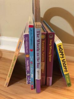 Board books. $1 each or all for $5