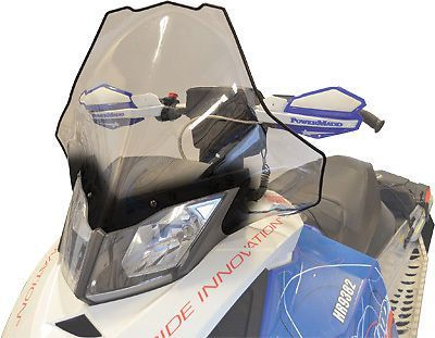 Find Powermadd Cobra Windshield Clear with Black Fade 20in. 13441 motorcycle in Pflugerville, Texas, United States, for US $91.72
